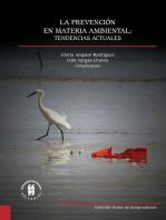 La prevención en materia ambiental: tendencias actuales