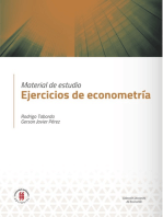Ejercicios de econometría