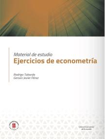 Ejercicios de econometría: Material de estudio