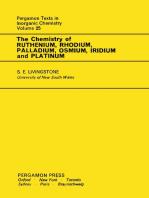 The Chemistry of Ruthenium, Rhodium, Palladium, Osmium, Iridium and Platinum: Pergamon Texts in Inorganic Chemistry, Volume 25