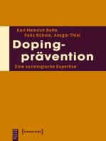 Dopingprävention: Eine soziologische Expertise
