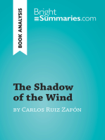 The Shadow of the Wind by Carlos Ruiz Zafón (Book Analysis)