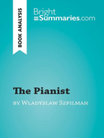 The Pianist by Wladyslaw Szpilman (Book Analysis)