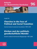 Churches in the Face of Political and Social Transition // Kirchen und der politisch-gesellschaftliche Wandel
