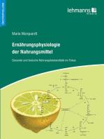Ernährungsphysiologie der Nahrungsmittel
