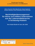 Nachhaltigkeitsmanagement für kleine und mittlere Unternehmen aus der Lebensmittelbranche in Schleswig-Holstein