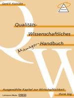 Qualitäts-Wissenschaftliches Manager Handbuch