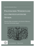 Politischer Widerstand als protestantische Option