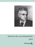 Jahrbuch der Luria-Gesellschaft 2012