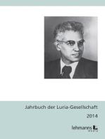 Jahrbuch der Luria-Gesellschaft 2014
