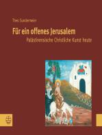 Für ein offenes Jerusalem