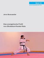 Das energetische Profil von Shotokan-Karate-Kata