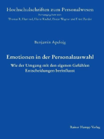 Emotionen in der Personalauswahl