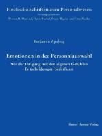 Emotionen in der Personalauswahl