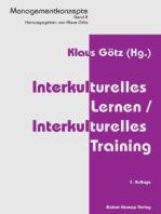 Interkulturelles Lernen /Interkulturelles Training