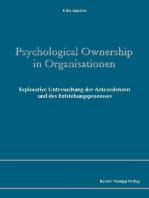 Psychological Ownership in Organisationen