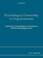 Psychological Ownership in Organisationen