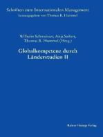 Globalkompetenz durch Länderstudien II