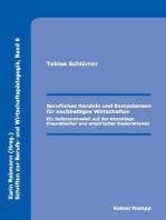 Berufliches Handeln und Kompetenzen für nachhaltiges Wirtschaften