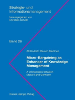 Micro-Bargaining as Enhancer of Knowledge Management: A Comparison between Mexico and Germany