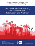 Innovative Restrukturierung von Unternehmen