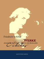 Gesammelte Werke Johann Christoph Friedrich von Schillers