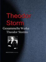 Gesammelte Werke Theodor Storms