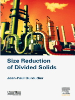 Size Reduction of Divided Solids