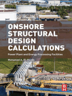 Onshore Structural Design Calculations: Power Plant and Energy Processing Facilities