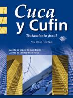 Cuca y Cufin: Tratamiento fiscal
