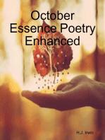 October Essence Poetry Enhanced