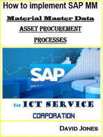 How to Implement SAP MM-Material Master Data and Asset Procurement Processes for ICT service Corporation