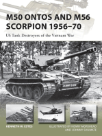M50 Ontos and M56 Scorpion 1956–70