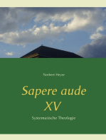 Sapere aude XV