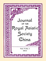 Journal of the Royal Asiatic Society China Vol.75 No.1