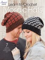 Learn to Crochet Mosaic Hats