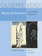 Messa da Requiem: Critical Edition Study Score