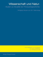 Wissenschaft und Natur: Studien zur Aktualität der Philosophiegeschichte Festschrift für Wolfgang Neuser zum 60. Geburtstag