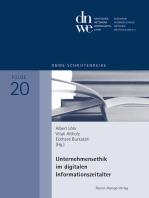 Unternehmensethik im digitalen Informationszeitalter