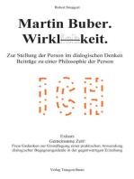Martin Buber. Wirklichkeit.