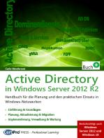 Active Directory in Window Server 2012 R2