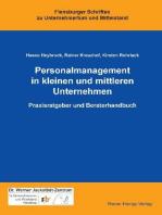 Personalmanagement in kleinen und mittleren Unternehmen