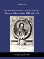 Die Weihbischöfe und Generalvikare des Bistums Köln zwischen 1510 und 1690