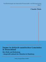 Imame in türkisch-sunnitischen Gemeinden in Deutschland