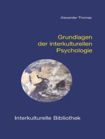 Grundlagen der interkulturellen Psychologie