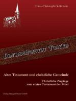 Altes Testament und christliche Gemeinde