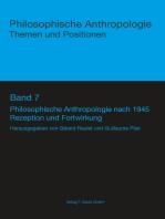 Philosophische Anthropologie nach 1945