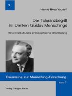 Der Toleranzbegriff im Denken Gustav Menschings