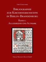 Allgemeines und Altmark