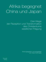 Afrika begegnet China und Japan